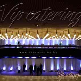 Кетъринг Събития - Агенция Пътна Администрация - Снимка 7 -  НДК - Зала 3 - ВИП Кетъринг София