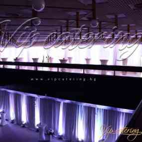 Кетъринг Събития - Агенция Пътна Администрация - Снимка 5 -  НДК - Зала 3 - ВИП Кетъринг София
