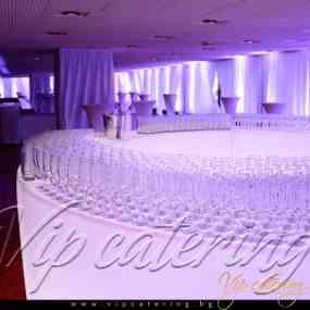 Кетъринг Събития - Агенция Пътна Администрация - Снимка 1 -  НДК - Зала 3 - ВИП Кетъринг София